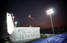 FIS SNOWBOARD WORLD CUP BIG AIR 2014