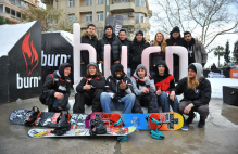 BURN RAIL JAM TURKEY TOUR - KARTAL II